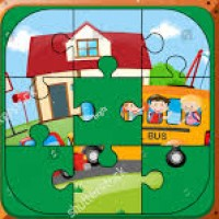 School Jigsaw Puzzle